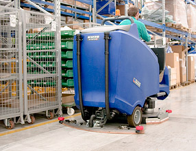 Floor Cleaning Machines � H1220 Scrubber