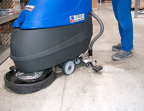 Floor Cleaning Machines - H404 Scrubber