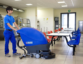 Floor Cleaning Machines � H507 Scrubber