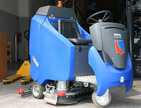 Floor Cleaning Machines – H815 Scrubber