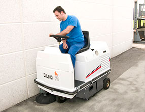 Floor Cleaning Equipment � Dulevo 75 Sweeper